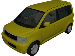 Mitsubishi eK Wagon [Japan] 3D Model