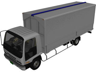 Isuzu Forward V 3D Model