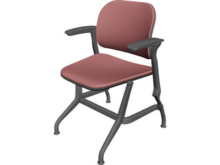 Steelcase Cachet Chair 3D Model