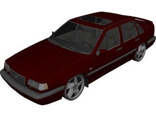 Volvo 850 3D Model 3D Preview