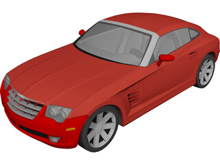 Chrysler Crossfire (2005) 3D Model
