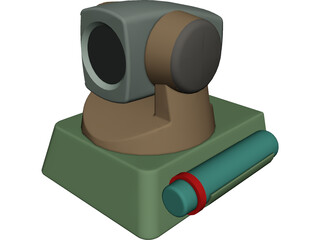 PC WebCam 3D Model