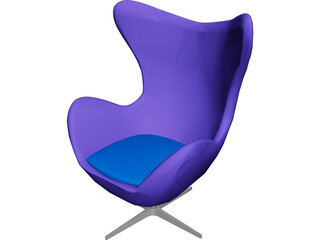 Egg Chair 3316 [Arne Jacobsen Classic] 3D Model