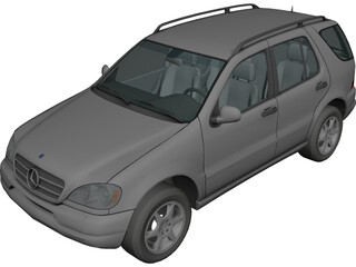 Mercedes-Benz M-class (2006) 3D Model