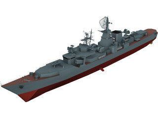 Kara Class BPK Type 1134B 3D Model 3D Preview