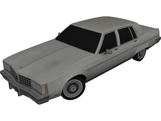 Oldsmobile Regency (1980) 3D Model