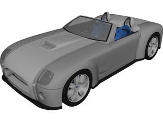Ford Shelby Cobra (2004) 3D Model