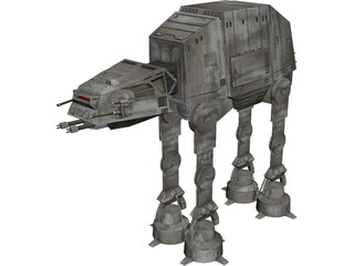 Star Wars Imperial Walker (AT-AT) 3D Model