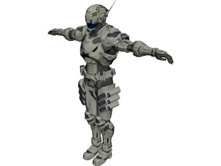 Vanquish Augmented Reaction Suit 3D Model