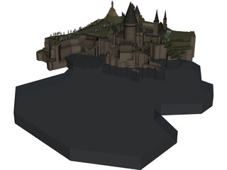 Hogwarts School of Witchcraft and Wizardry  3D Model