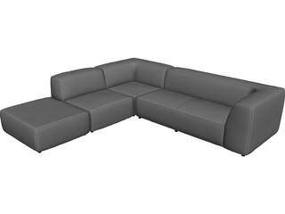 Daisy Sofa 3D Model