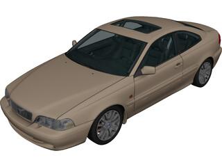 Volvo C70 Coupe 3D Model