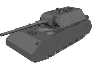 Panzer Maus 3D Model
