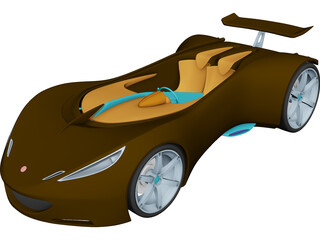 Lotus Hot Wheel Concept 3D Model