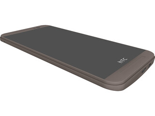 HTC One M9 CAD 3D Model