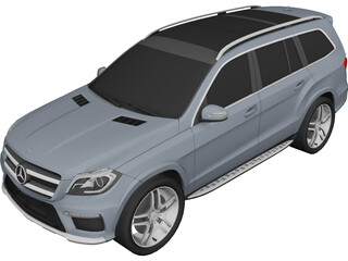 Mercedes-Benz GL 63 AMG 3D Model