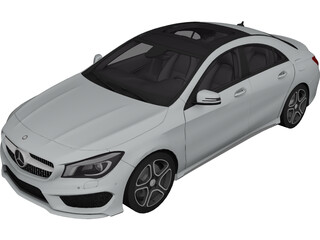 Mercedes-Benz CLA-Class (2014) 3D Model