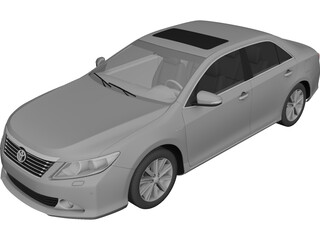 Toyota Camry (2011) 3D Model