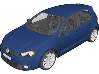 Volkswagen Golf 5 3D Model