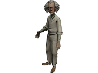 Emmett Brown 3D Model