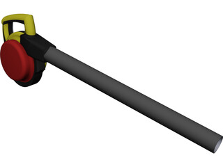 Leaf Blower CAD 3D Model