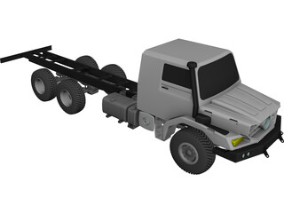 Mercedes-Benz Zetros CAD 3D Model