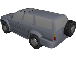 Toyota Hilux CAD 3D Model