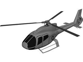Eurocopter EC-120B Colibri 3D Model