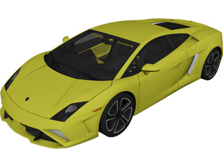 Lamborghini Gallardo LP560-4 (2013) 3D Model