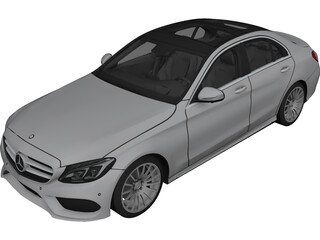 Mercedes-Benz C-Class C250 W205 (2015) 3D Model