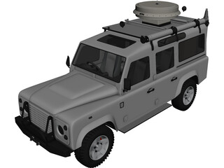 Land Rover Custom 3D Model