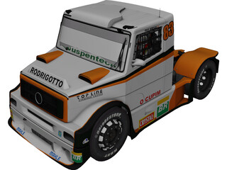 Mercedes-Benz Boessio Competicoes 3D Model