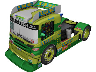Scania G470 Original Reis Pecas 3D Model 3D Preview