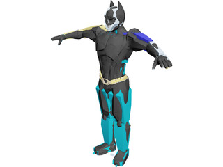 Batman Dark Knight 3D Model