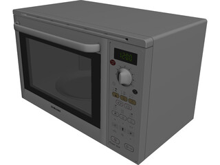 Samsung Microwave Oven 3D Model