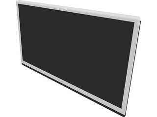 Philips LED TV 42 inch (2013) 3D Model