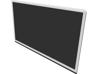 Philips LED TV 50 inch (2013) 3D Model