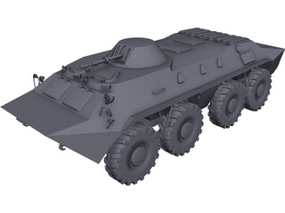 BTR-70 [NURBS] 3D Model