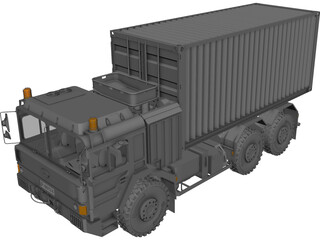 Raba H25 Container 3D Model