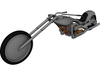 Chopper 3D Model 3D Preview