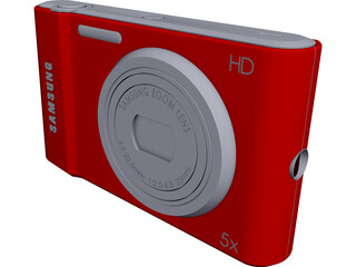 Samsung Photo Camera CAD 3D Model