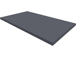 Sharp NU Solar Panel CAD 3D Model