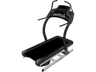 NordicTrack Treadmil 3D Model