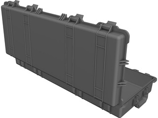PE-1700 Weapon Pelican Case CAD 3D Model
