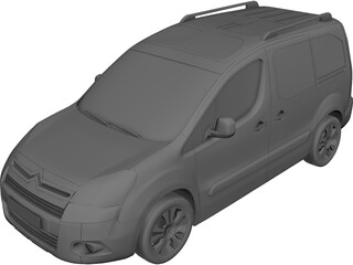 Citroen Berlingo Multispace (2011) 3D Model 3D Preview