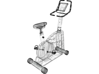Exercise Cycle 3D Model