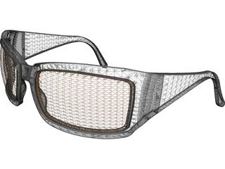 Sunglasses Plastic 3D Model