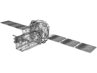 INTEGRAL Satellite 3D Model