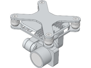 DJI Phantom Gimbal 3D Model