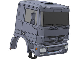 Mercedes-Benz Semi-Cab 3D Model